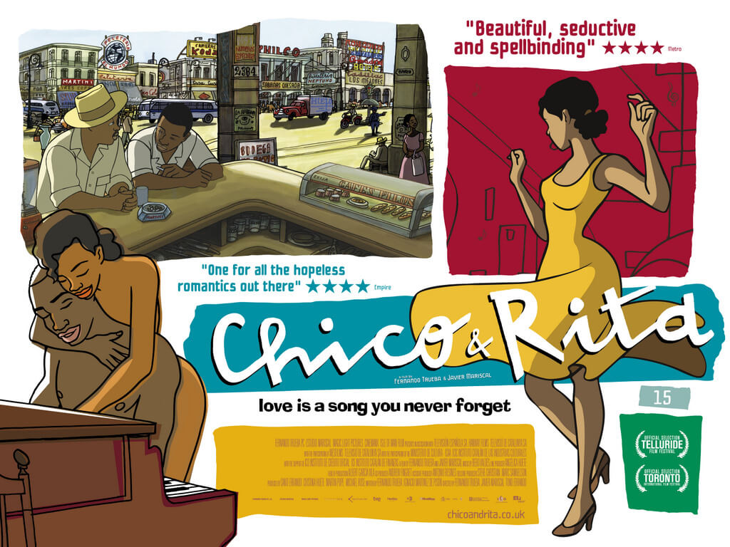 Film Review Chico And Rita Skwigly Animation Magazine