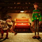 Arthur Christmas Press Screening at Sony Animation Studios, London