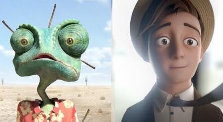 """Oscar wins for """"Rango"""" and """"Morris Lessmore"""""""