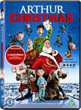 Arthur Christmas (DVD + UV Copy)