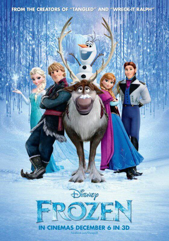 Disney Frozen Poster UK