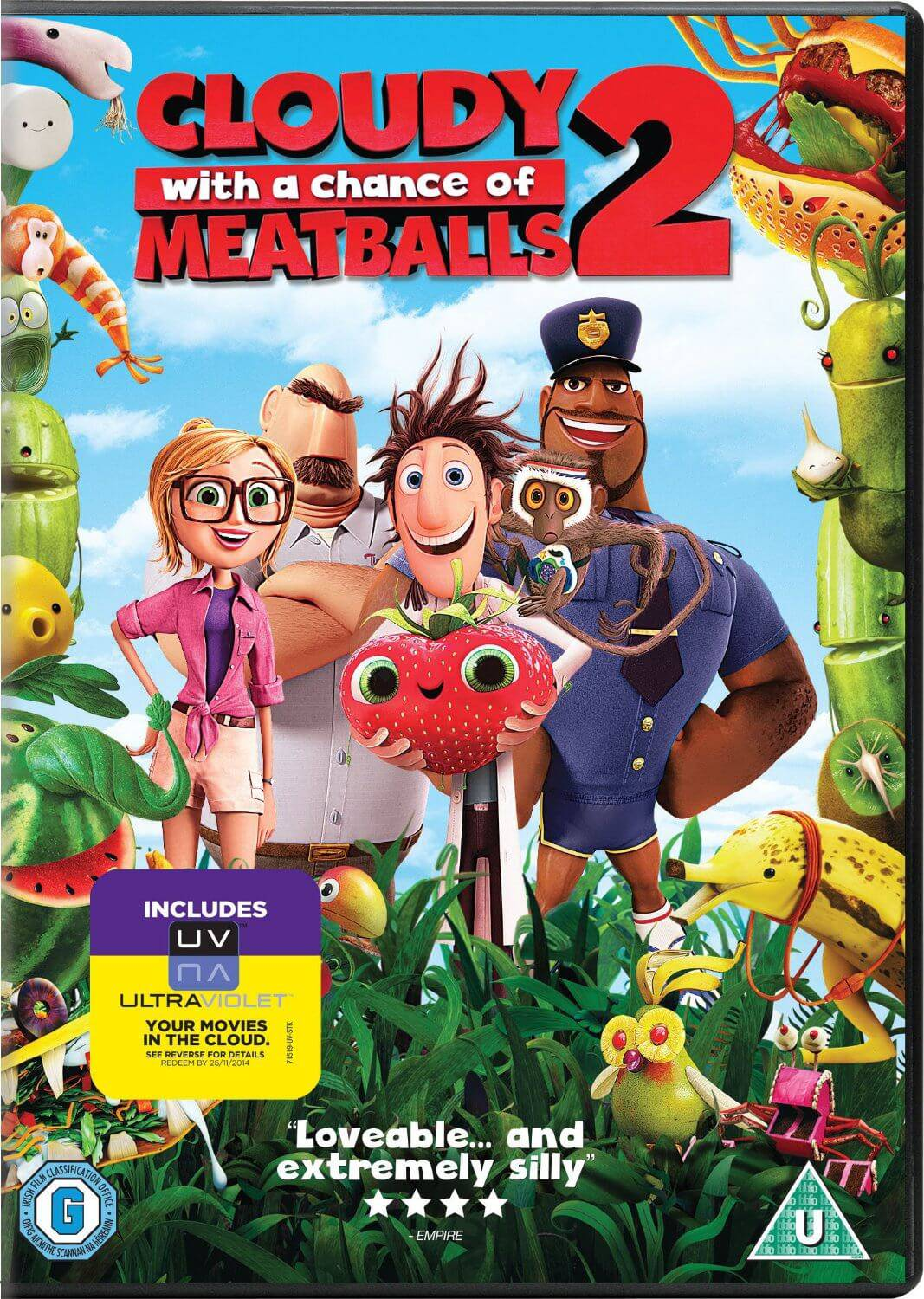 Cloudy With A Chance of Meatballs 2 - DVD