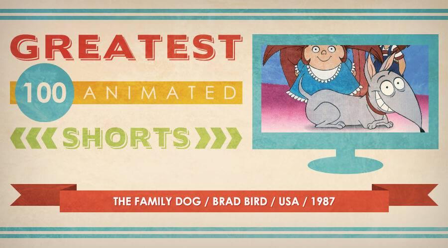 Magazine Family Dog The Family Dog / Brad Bird