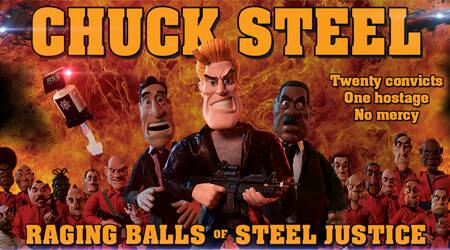 Chuck Steel: Raging Balls of Steel Justice – Interview with creator Mike Mort