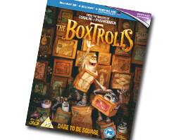 COMPETITION: You could win THE BOXTROLLS on 3D Blu-ray™!