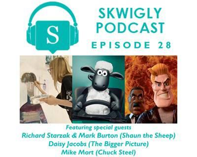 Skwigly Animation Podcast #28 – Richard Starzak, Mark Burton, Daisy Jacobs & Mike Mort