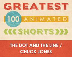 100 Greatest Animated Shorts / The Dot and the Line / Chuck Jones
