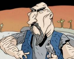 Bill Plympton and Jim Lujan's 'Revengeance' – Teaser Trailer!