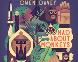 "Owen Davey's ""Mad About Monkeys"" – Book Review & Interview"