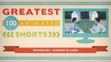 100 Greatest Animated Shorts / Neighbours / Norman McLaren