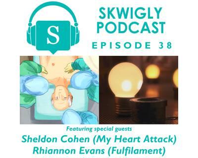 Skwigly Animation Podcast #38 – Sheldon Cohen & Rhiannon Evans