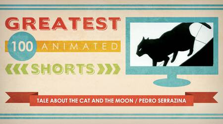 100 Greatest Animated Shorts / Tale About the Cat and the Moon / Pedro Serrazina