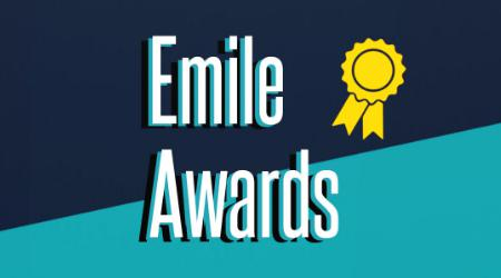 EAA President Peter Lord introduces the Emile Awards