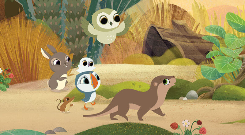 Cartoon Saloon's Puffin Rock Feature Film Movie Announced | Skwigly
