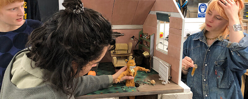 Nfts Model Makers Bring Roald Dahl S Writing Hut To Life With A Twist In The Tail Skwigly Animation Magazine