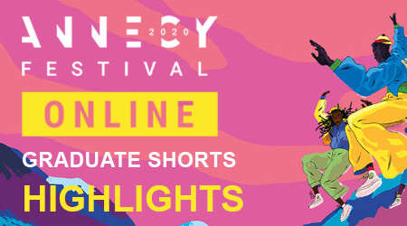 Annecy 2020 : Graduate Shorts highlights | Skwigly Animation Magazine