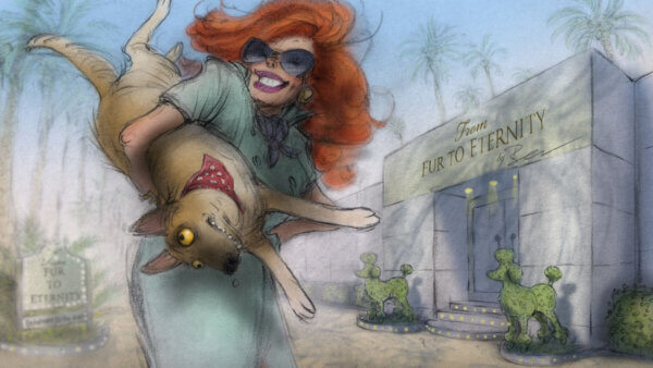 Affairs of the Art - Interview with Joanna Quinn and Les Mills Part 1    Skwigly Animation Magazine